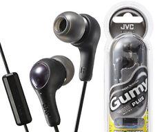JVC HA-FX7M-B BLACK Gumy In-ear Headphone with Remote & Microphone /Brand New