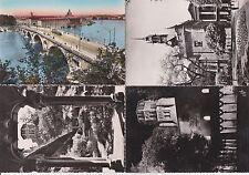 Lot 4 cartes postales anciennes TOULOUSE 7