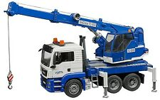Bruder Toys Kids MAN TGS Crane Truck with Light & Sound Module 03770 NEW 2017