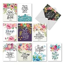 Holy Sentiments: 10 Assorted Blank All-Occasion Note Cards Featuring Inspiration