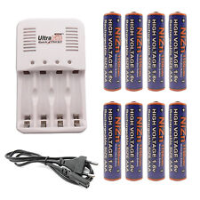 8 AAA 1150mWh 1.6V NiZn Rechargeab Battery + Rechargeable Charger UltraCell EU
