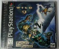Wild 9 (Sony PlayStation 1, 1998) Tested Working