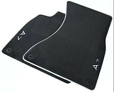 NEW GENUINE AUDI A7 LEFT HAND DRIVE LUXURY FRONT CARPET FLOOR MATS SET