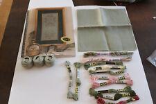 Kit de points de croix et autres. ( Cross'N Patch) The Unfinished Sampler
