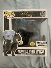Funko Pop Mounted White Walker Figure.Glow In The Dark Exclusive.Game Of Thrones
