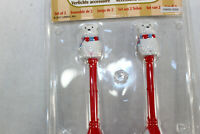 Polar Bear Street Lamps Lemax 2017  Lighted Accessory Train Railroad Village 4""