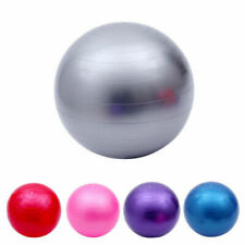 75 cm Yoga Ball Pilates Fitness Maison Gym équilibre Fitball exercice Swiss Boul...