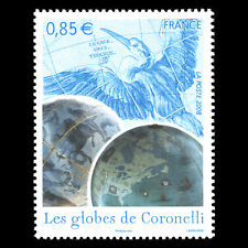 France 2008 - Vincenzo Maria Coronelli's Globes - Sc 3410 MNH