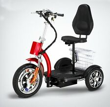 Powered electric mobility scooter, electric tricycle, scooter