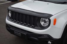 Bonnet Trim Hood Protector Bug Guard Wind Deflector To Fit Jeep Renegade (15+)
