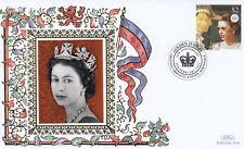 (19240) Grenada Carriacou Petite Martinique Benham FDC Queen Jubilee 6 Feb 2007