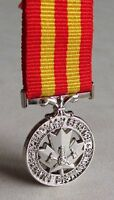 Canada Canadian Fire Services Exemplary Service Medal  Miniature issue RARE