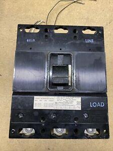 GOULD ITE JJ3B400 Circuit Breaker 3 POLE 400 AMP 600V w/ Shunt Trip S01JL0R0