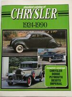 Standard Catalog of Chrysler 1924-1990 by John Lee 1990, Paperback First Edition
