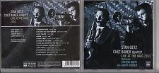 Stan Getz. Chet Baker Quartet. Live at the Haim 1953 Live Recording 2004 JZ2.19