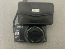 Nikon Coolpix S9500 18.1MP 22X Zoom Digital Point and Shoot camera UNTESTED