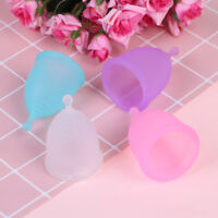 Menstrual cup medical grade soft silicone moon lady period hygiene reusable DD