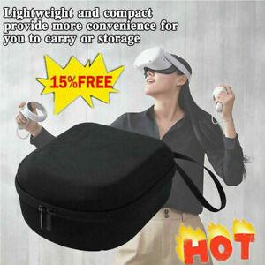 For Oculus Quest 2 VR Travel Carrying Case VR Headset Bag Controller V9F7