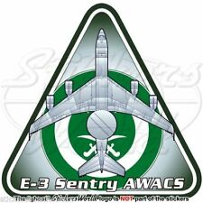 Boeing E-3 Sentry SAUDI ARABIA AirForce E-3A AWACS AEW&C RSAF Arabian - Sticker