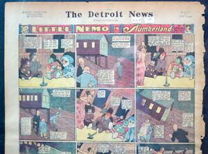 LITTLE NEMO SUNDAY Color Strip 10/4/1925 WINSOR McCAY Little Nemo in Slumberland