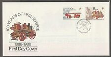 S'pore FDC 100 Years of Fire Service 1.11.1988