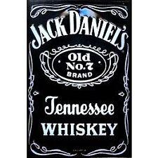 Jack Daniels größer - 15 x 30 cm Blechschilder