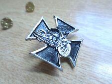 Harley Davidson Maltese Cross Motorcycle Pin Biker Badge HD Factory Vest Jacket