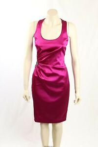 NEW David Meister - Size 6- Stunning Pink Formal Cocktatil Dress-RRP:$560