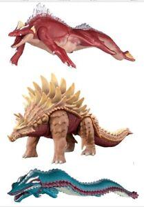 Godzilla Singular Point AQUATILIS ANGUIRUS MANDA SET OF 3 Bandai Presale