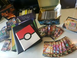 POKEMON lotto GOTTA CATCH 'EM ALL!! svendita MAZZETTI 10 carte Charizard GX VMAX