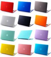"Rubberized Matte Hard Case Cover Skin for MacBook Pro 15""& Retina Pro 15 Touch"