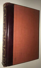 CRIME AND PUNISHMENT! FYODOR DOSTOEVSKY! FINE LEATHER BINDING ANTIQUARIAN 1947