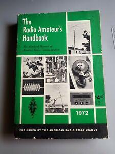 vintage 1972 THE RADIO AMATEUR'S HANDBOOK softcover book 49th edition HAM RADIO