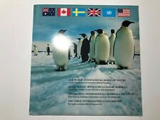 1989 Our World International Images of Nature Folder Book Libro Unmounted