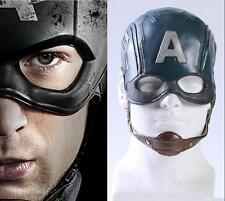 Captain America 3 Civil War - Steven Rogers Helmet Cosplay Prop PVC Mask New