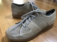 Christian Kimber x Eidos Mens Suede Leather Trainers Sneakers Shoes 41.5 8.5/9
