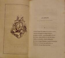 PONCY Charles - MARINES POESIES - EDITION ORIGINALE - 1842