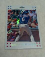 BRAD WILKERSON 2007 TOPPS CHROME REFRACTOR SERIAL # 093/660 A0052