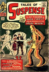 Tales of Suspense #45 Silver Age Marvel 4.0