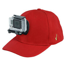 Review XP® Baseball Hat Quick Release Buckle Mount Adjustable Cap for GoPro Red