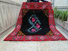 Vintage 1986 Moroccan Handmade Rug Azilal Rug Beni Ourain Berber Carpet