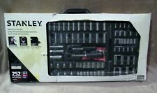 Stanley Stmt74099 252-Piece Mixed Tool Set in Foldable Hard Carry Case