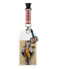 Harley Quinn Birds Of Prey Breakaway/ID Holder Lanyard W/Charm