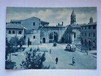 FANO bus autobus Arco Augusto Pesaro Urbino vecchia cartolina