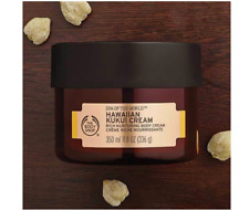 THE BODY SHOP SPA OF THE WORLD HAWAIIAN KUKUI CREAM 11.8 OZ. 350 ml *NEW.