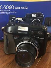 Olympus CAMEDIA C-5060 Wide Zoom 5.1MP Digital Camera - Black