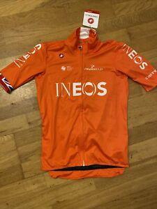Team Ineos Castelli mid weight Cycling Short Sleeve Jacket Pinarello BNWT Uci XL