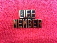 US VETERANS ORGANIZATIONS LIFE MEMBER HAT/LAPEL PIN