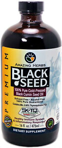 Black Seed Oil by Amazing Herbs, 16 oz