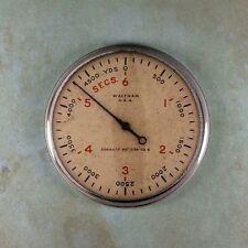 "Vintage Style Stopwatch WW2  Fridge Magnet 2 1/4"" Submarine Timer Waltham Sonar"